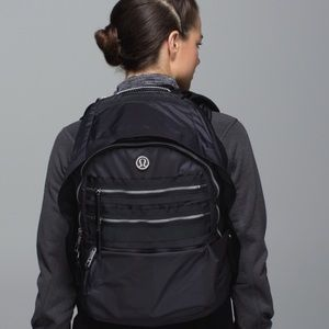 Lululemon Pack to Reality Black Backpack